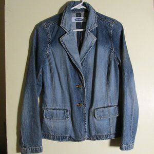 Old Navy Jeans Jacket Dressy Button down